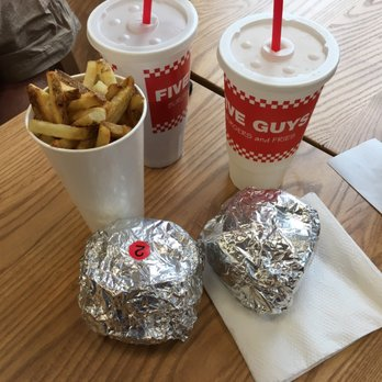 five guys manteca