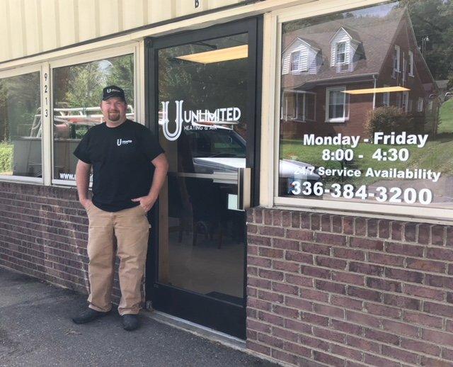 Unlimited Heating and Air: 9211 B Nc Hwy 194 N, Lansing, NC