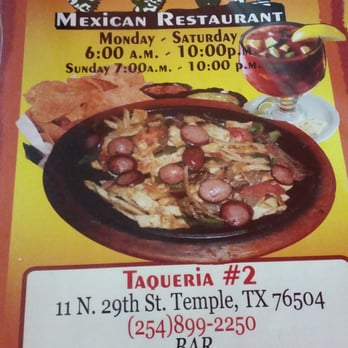 Mexican Food Places In Temple Tx