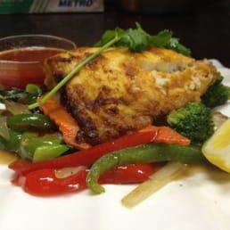 Sakana Japanese Restaurant - Nanuet, NY, United States. Grilled Tilapia Fish Entree