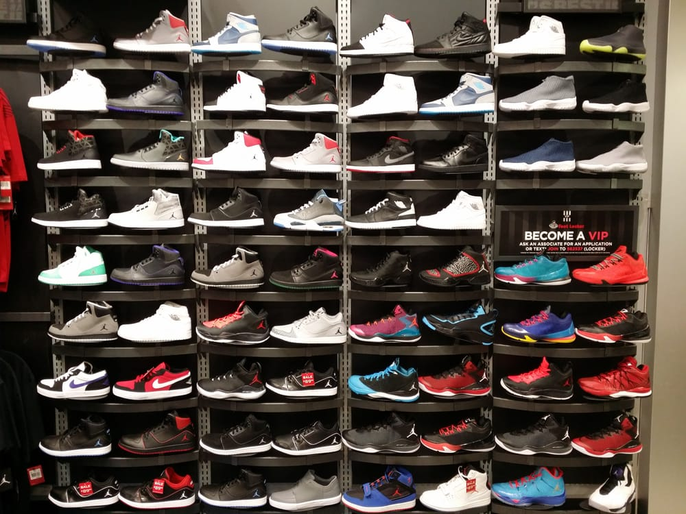 Footlocker How To Find A Store With The Shoe