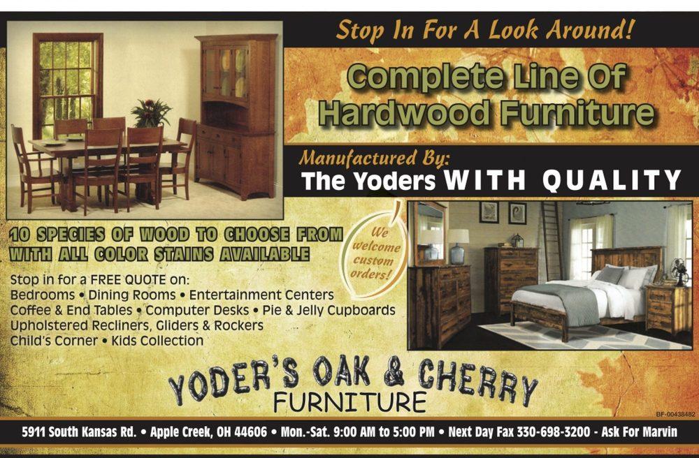 Yoder's Oak & Cherry: 5911 S Kansas Rd, Apple Creek, OH
