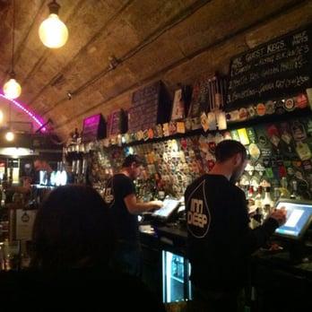 Photo Of Inn Deep   Glasgow, United Kingdom. Pretty Cool Bar Area With A
