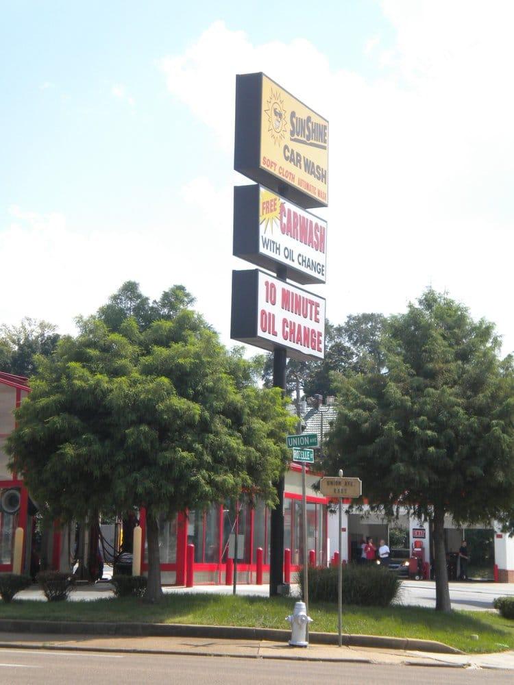 Sunshine Car Wash Memphis