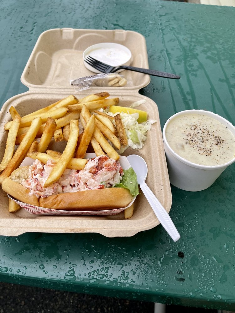 Food from Captain Marden's Food Truck