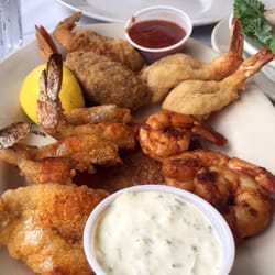 Photo Of Clary S Seafood Restaurant Galveston Tx United States Shrimp Platter
