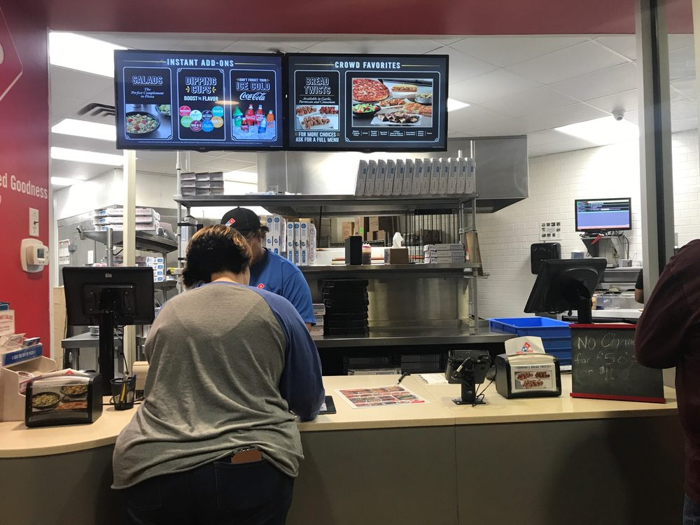 Domino's Pizza: 1124 N Breazeale Ave, Mount Olive, NC