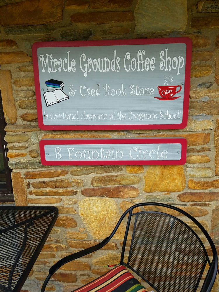 Miracle Grounds Coffee Shop: 8 Fountain Cir, Crossnore, NC