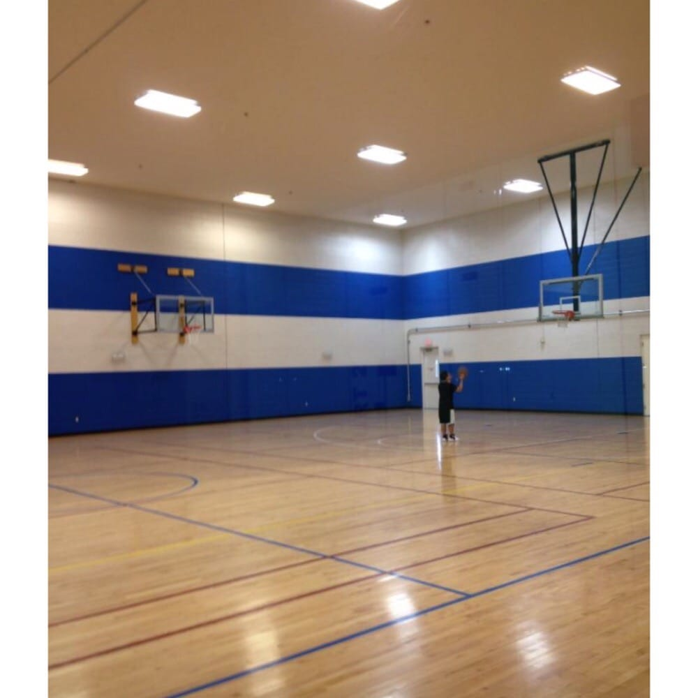Indoor and outdoor basketball courts - Yelp