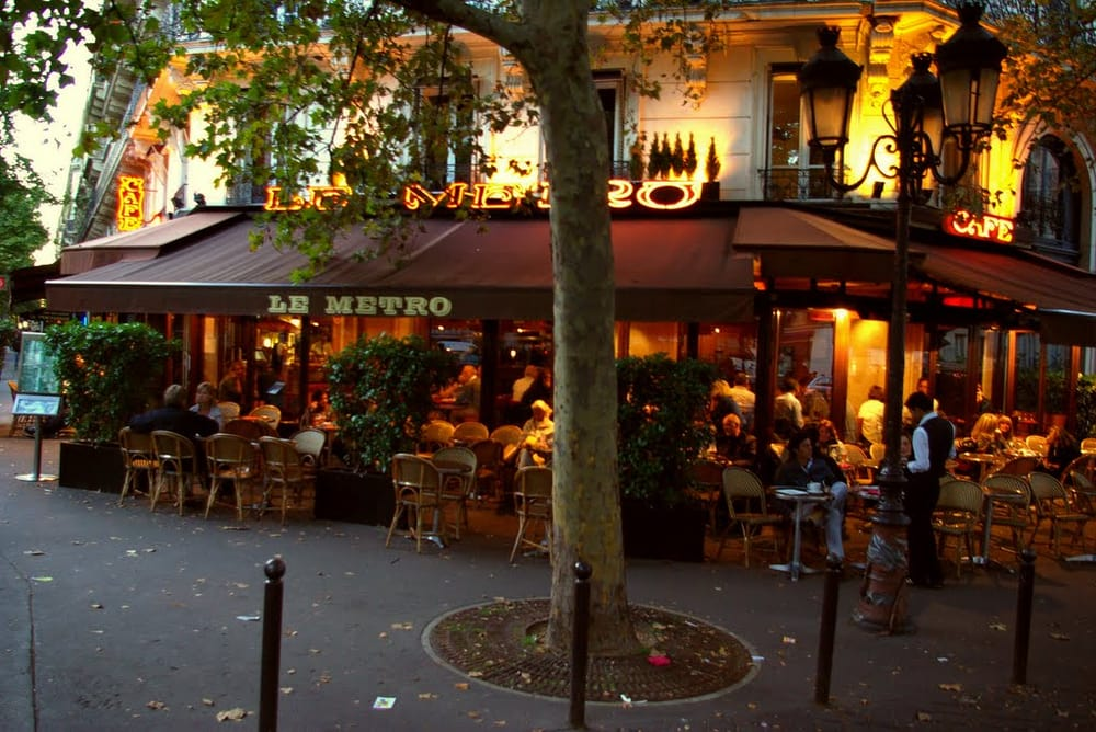le metro cafe  updated june      reviews cafes  bd st germain