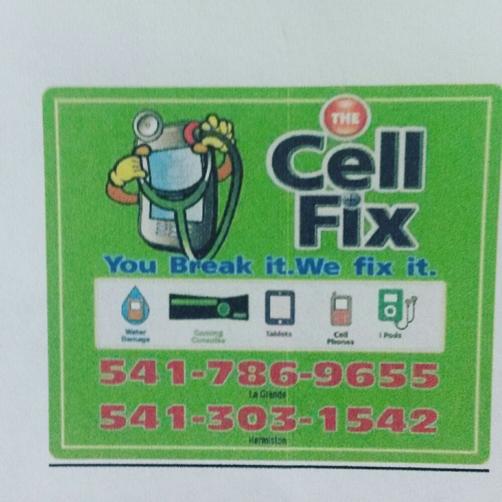 The Cell Fix: 824 S Hwy 395, Hermiston, OR