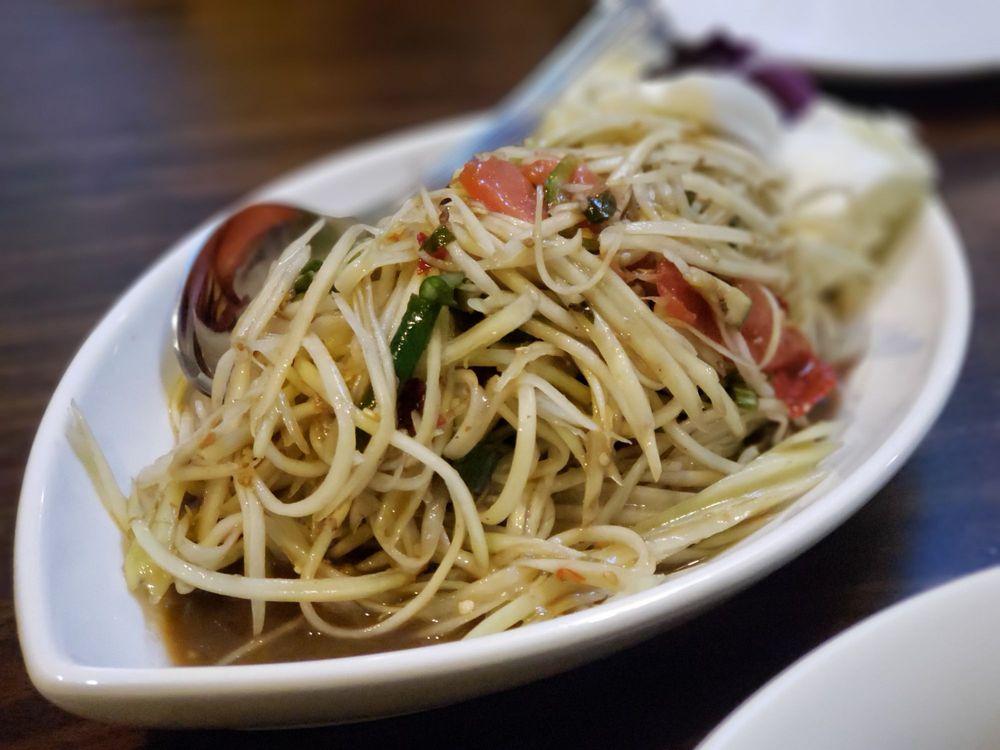 Food from Lotus Thai & Khmer Cuisines