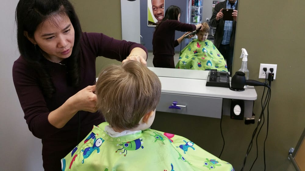 Great Service Great Haircut And Theyre Really Good With Kids Yelp