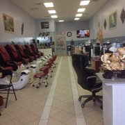 Luxor nails and spa nail salons 38 dalrymple rd sunderland md phone number yelp for Nail salon winter garden village