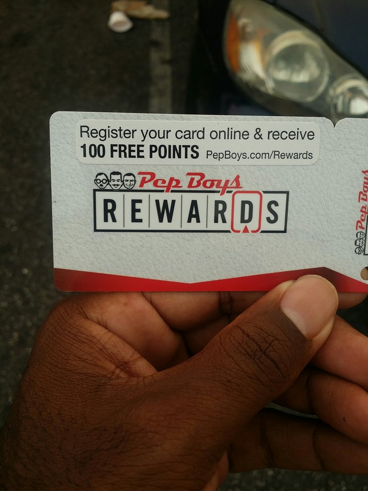 Pepboys Com Rewards >> Yes They Have A Rewards Card Who Doesn T Like Rewards