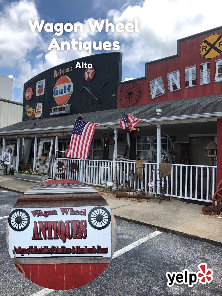 Wagon Wheel Antiques: 258 Anderson Cir, Alto, GA