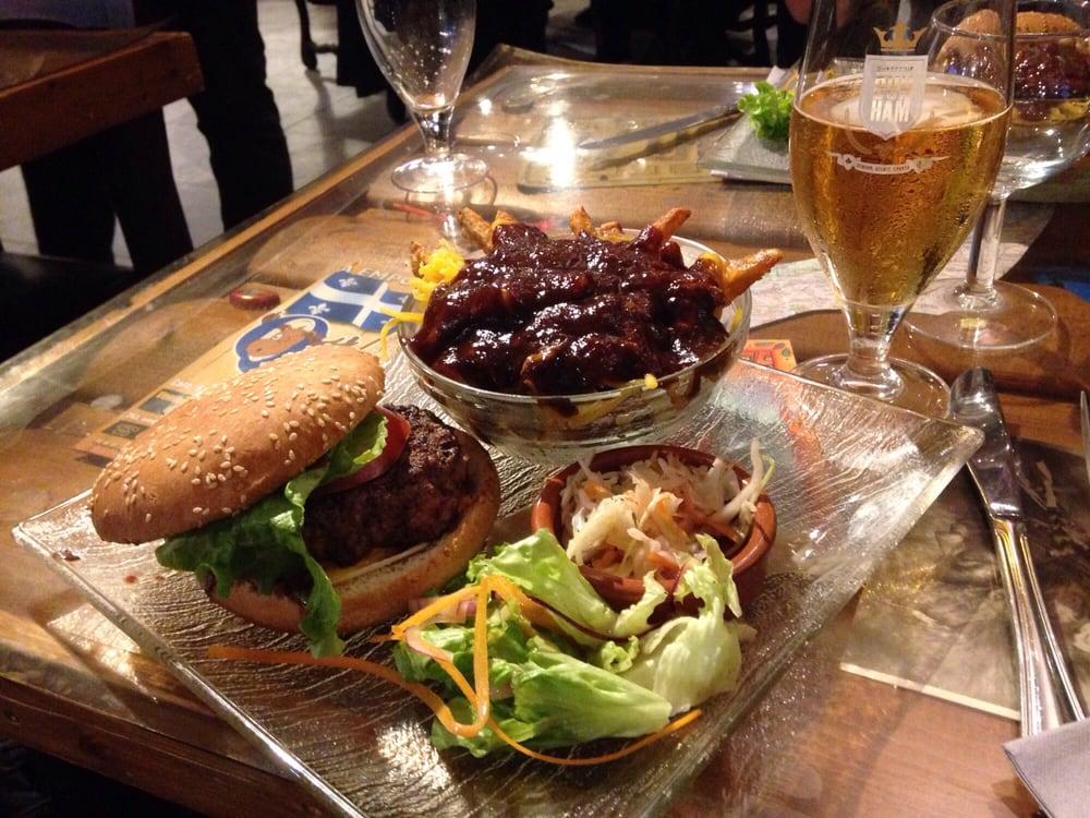 Restaurant Quebec Music Caf Ef Bf Bd Pessac