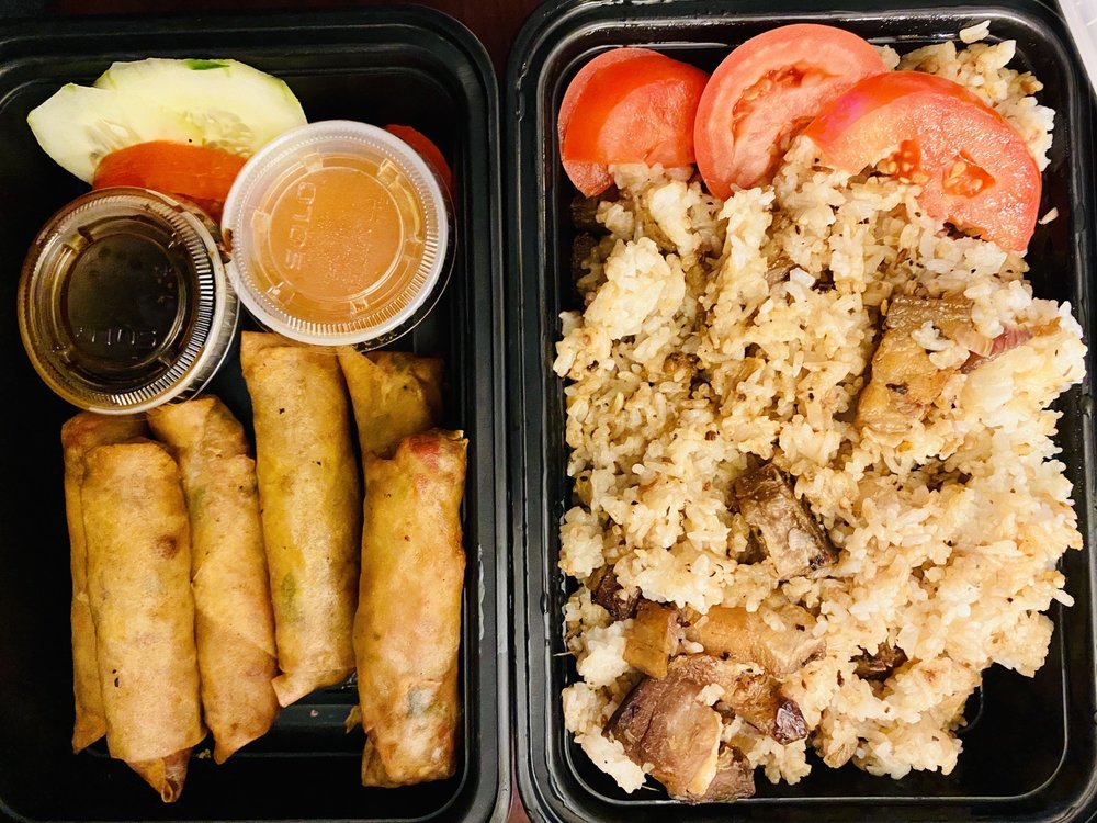 Food from Kusina Philly