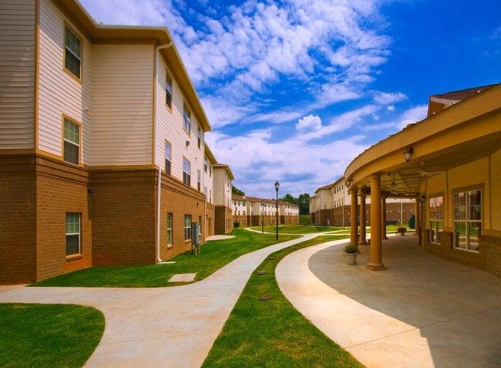 Campus Pointe Apartments Greenville Sc