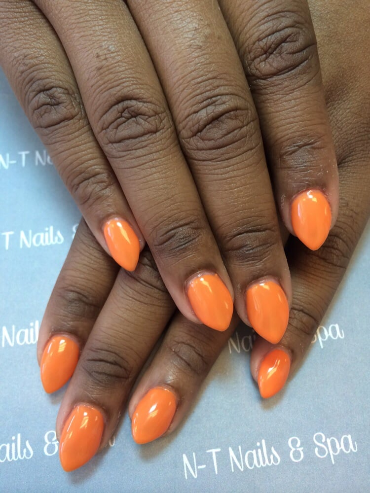 Short stiletto nails for work. - Yelp
