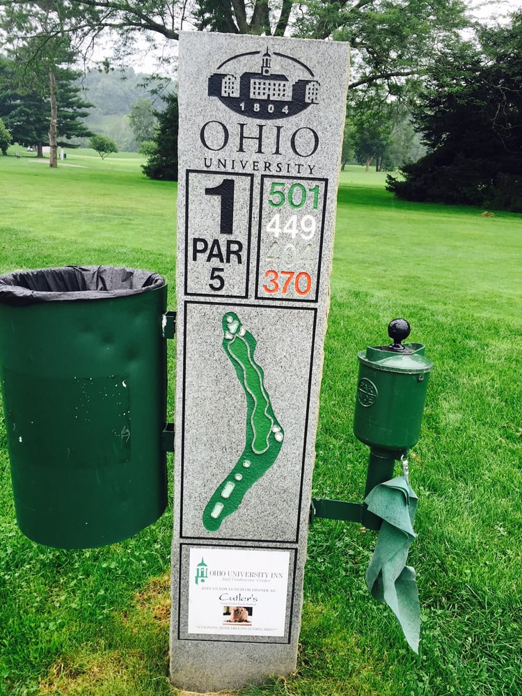 Ohio University Golf Course: 106 S Green Dr, Athens, OH