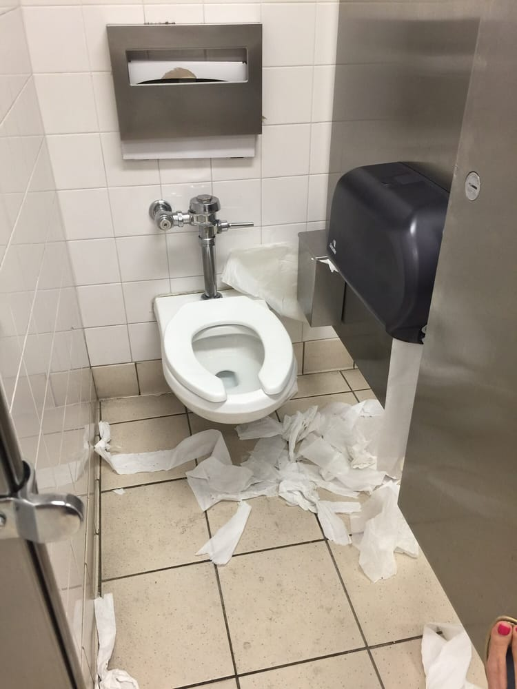 Photo of Target - Canoga Park, CA, United States. Disgusting ladies bathroom !