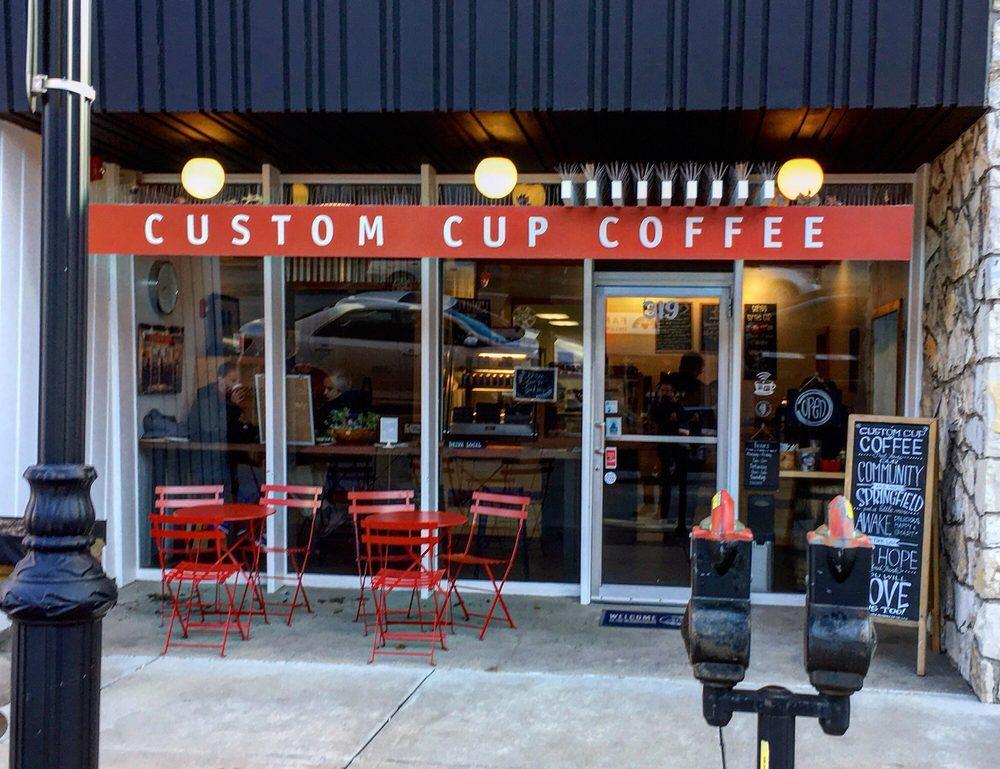 Custom Cup: 321 E Monroe St, Springfield, IL
