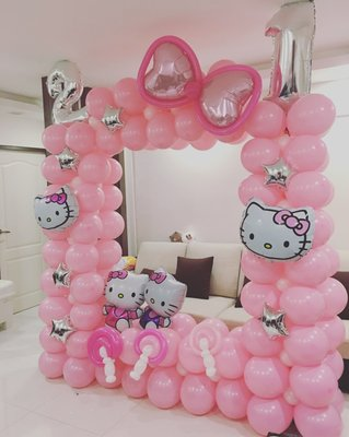 Pixel party singapore singapore jurong east st 21 for Baby shower decoration singapore