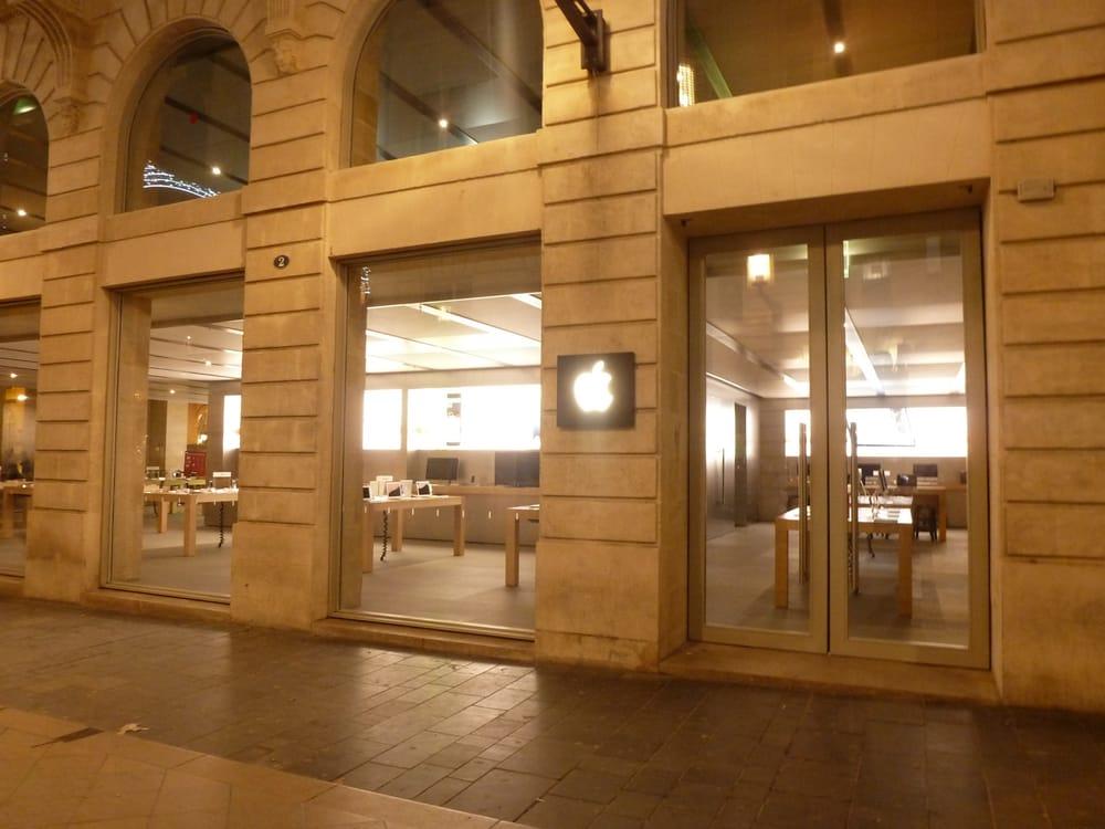 apple store 15 photos 35 avis t l phones portables 2 4 rue sainte catherine h tel de. Black Bedroom Furniture Sets. Home Design Ideas