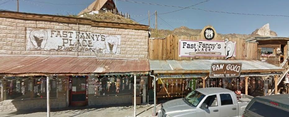 Fast Fanny's Place: 152 Main st, Oatman, AZ