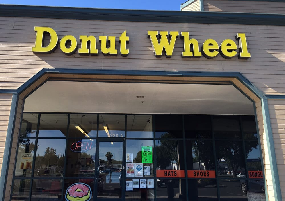 Donut Wheel: 1029 Bridge St, Colusa, CA