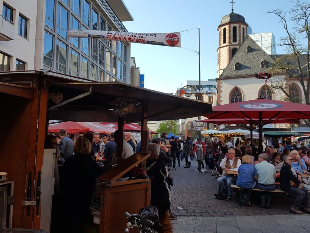 Wein maifest liebfrauenberg temp closed local for Liebfrauenberg frankfurt