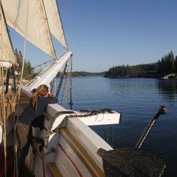 Schooner VICTORY CHIMES - 10 Photos - Sailing - Windjammer