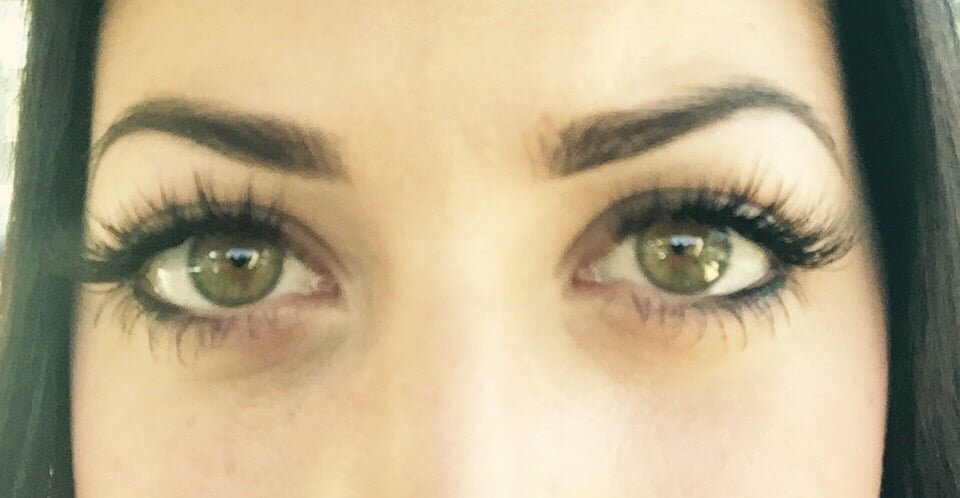 My Amazing Eyelash Extensions The Photo Barely Does Them Justice