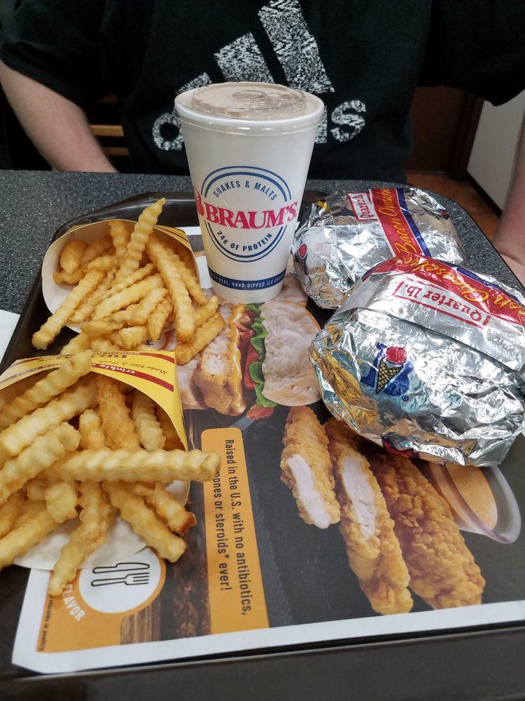 Braum's Ice Cream & Dairy Stores: 702 W Petree Rd, Anadarko, OK