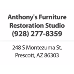 Anthony S Furniture Restoration Studio Repair 248 Montezuma St Prescott Az Phone Number Yelp