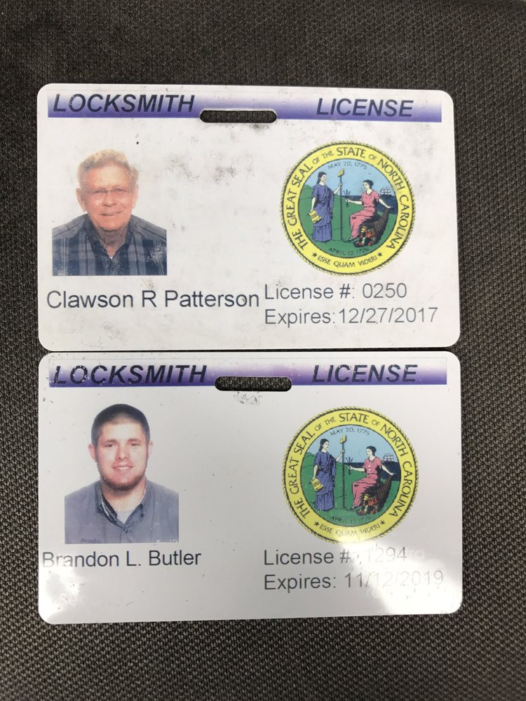 Patterson Locksmith: 3105 Harward Dr, Sanford, NC