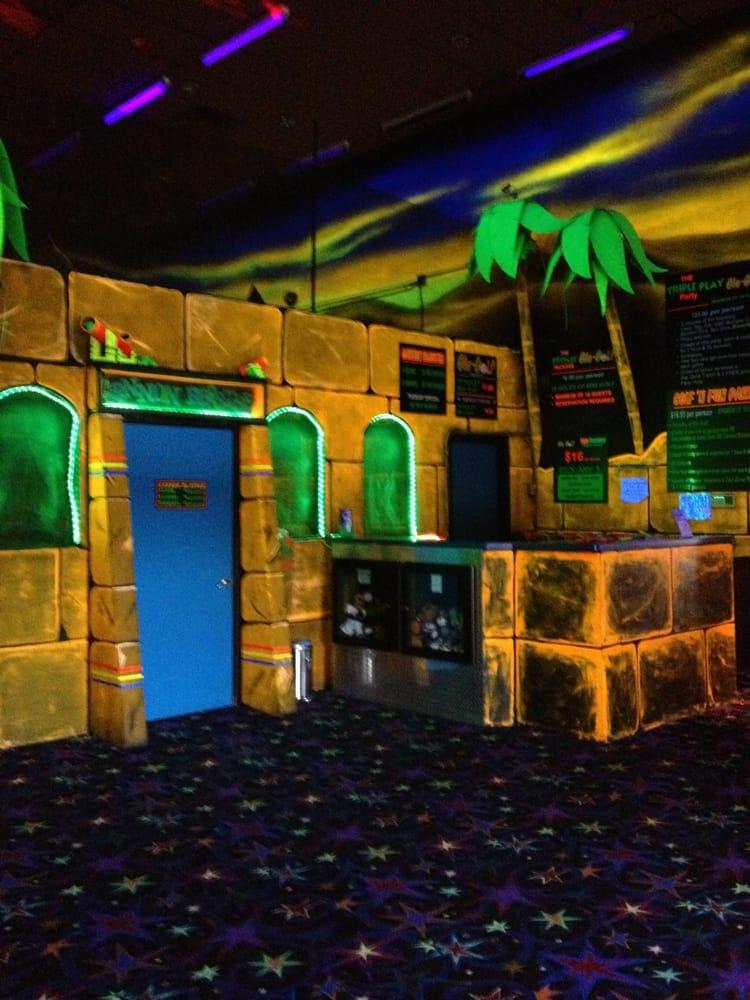 Zap Zone Lansing: 936 Mall Dr E, Lansing, MI