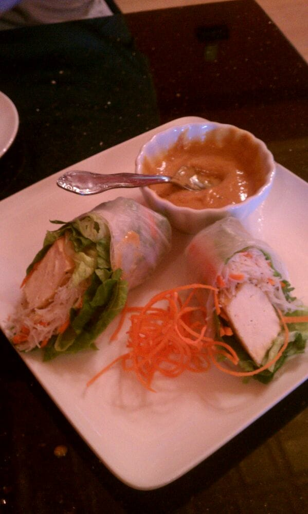 Summer roll delicious yelp for Anong thai cuisine