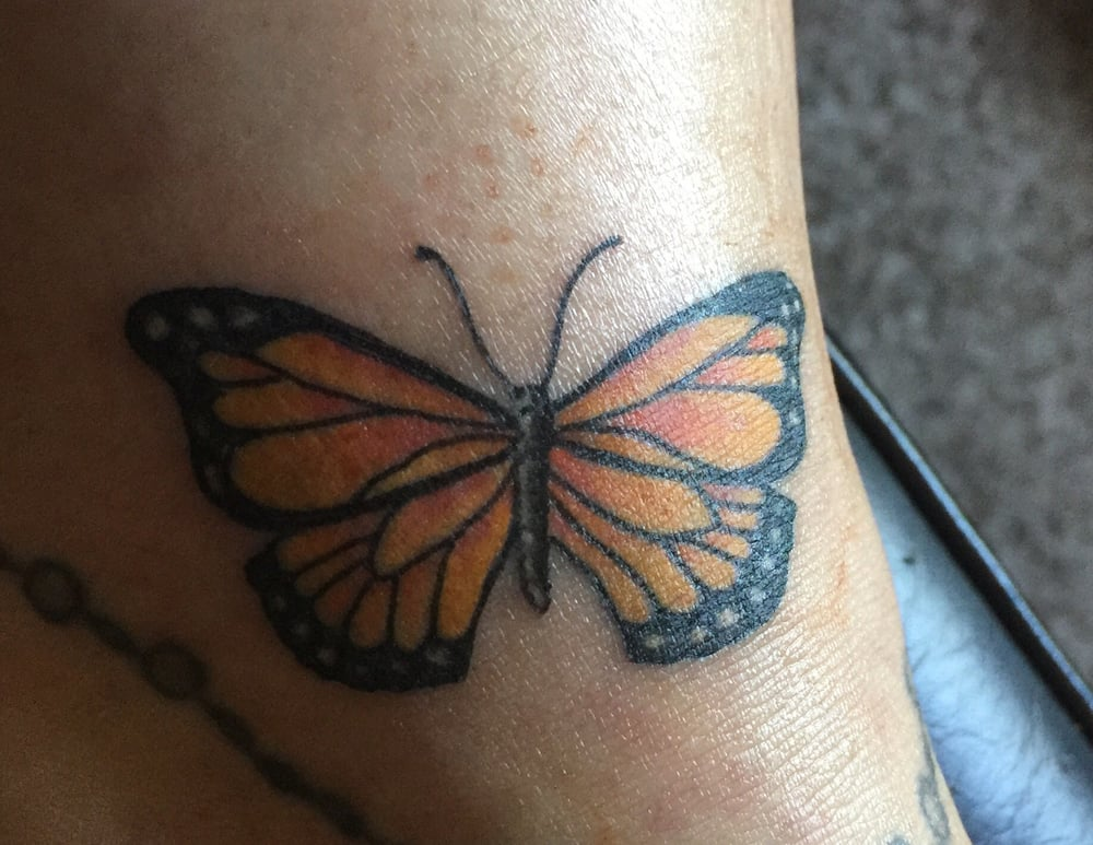 Tattoo cover up now i can wear skirts and shorts again for Electric 13 tattoo