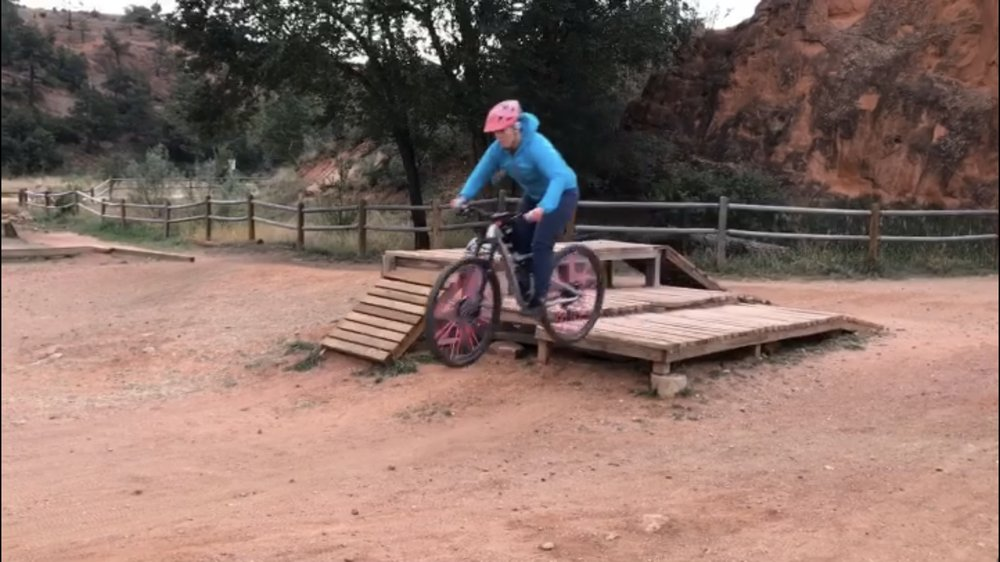 MTB with Stacy