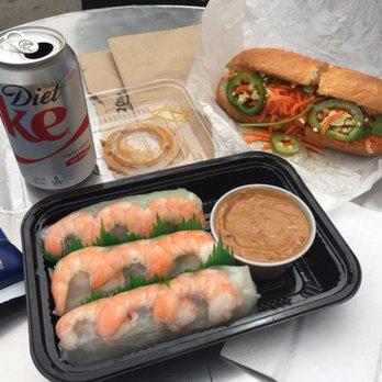 Photo Of Dinosaurs Vietnamese Sandwiches San Francisco Ca United States Pork Sandwich