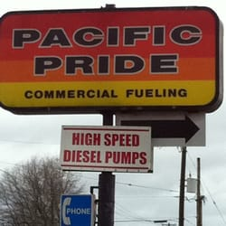 Pacific Pride - Gas Stations - 8100 NE Martin Luther King Blvd