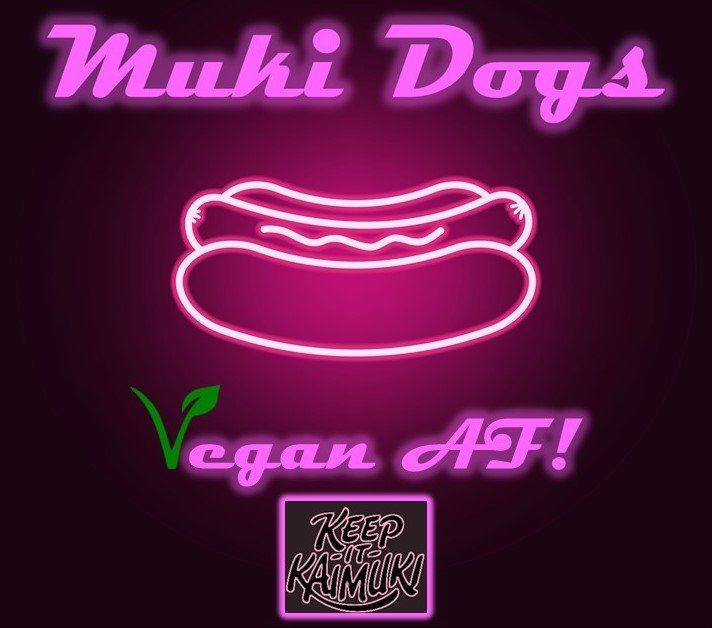 Food from Muki Dogs
