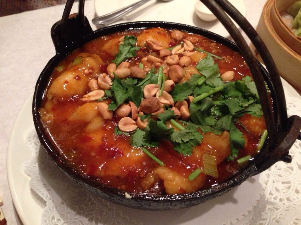Spicy tofu fish fillet casserole yelp for 456 shanghai cuisine
