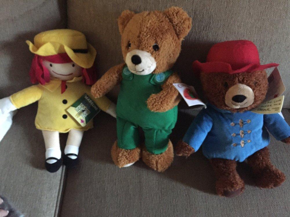 New Kohls Cares Stuffed Animals Madeline Corduroy And Paddington
