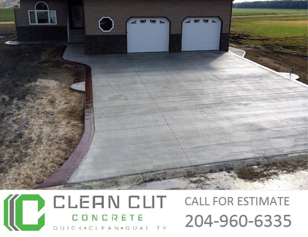 Photo Of Clean Cut Concrete   Winnipeg, MB, Canada. Clean Cut Concrete  Winnipeg