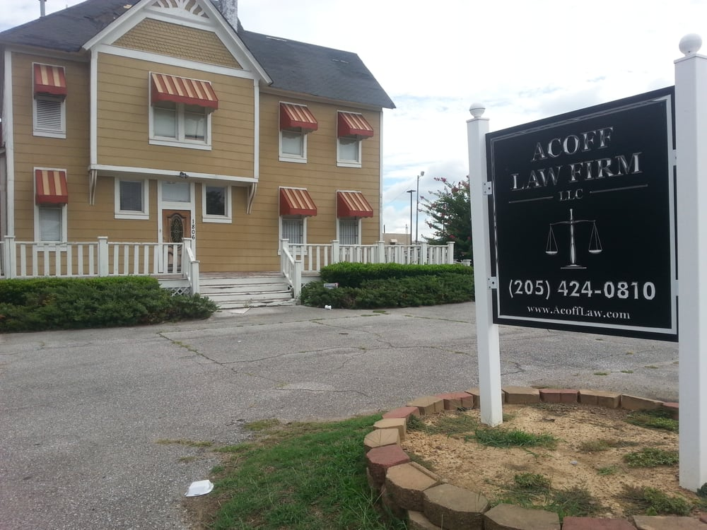 Acoff Law Firm: 1806 5th Ave N, Bessemer, AL