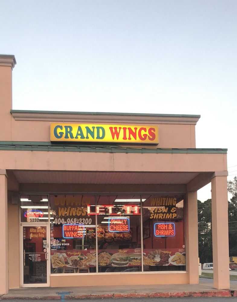 Food from Grand Wings