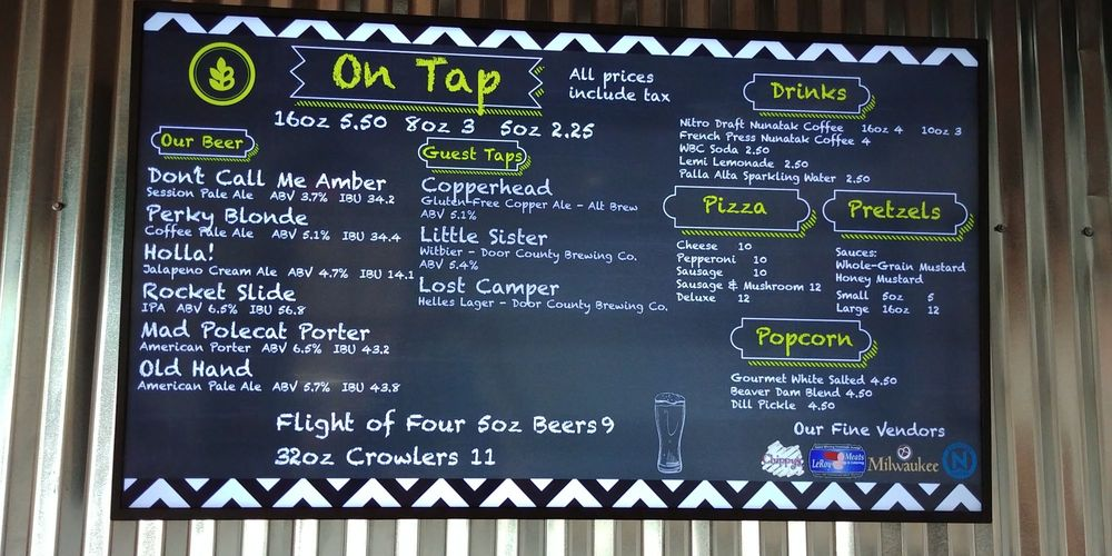 OOGA Brewing Company: 301 S Spring St, Beaver Dam, WI